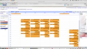 So sieht das Ergebnis in Google Kalendar aus...